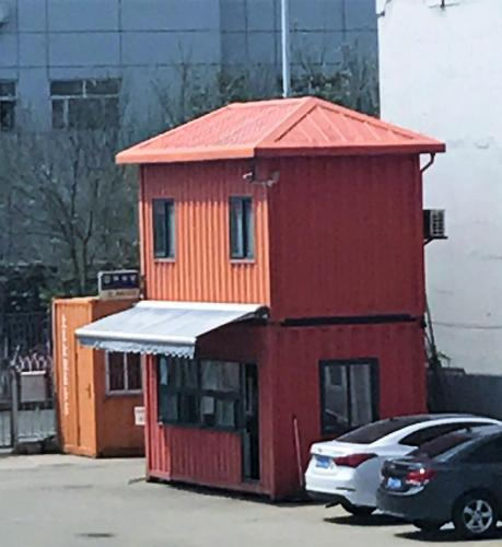 Container two story office